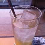 鎌倉パスタ - アイス柚子茶