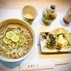 小来川 山帰来 - 料理写真:すだち蕎麦(温)