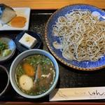 手打ちそば処しゅん - 料理写真:角煮そば 1700円