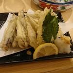 参九亭 - 小いわしの天ぷら