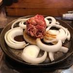 司バラ焼き大衆食堂 - 十和田バラ焼き定食 Before