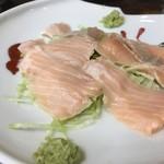 中島屋食堂 - 料理写真:琵琶マスの刺身