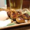 がんばり家 - 料理写真:半熟玉子が珍しい「つくね」