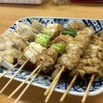 七福食堂 - 焼鳥が美味いんですよね。