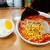 北海道ラーメン 赤レンガ - 料理写真:北海道ラーメン 赤レンガ@鶴見 味噌オロチョンラーメン・6倍・コーン・半ライス(850円+100円+0円)