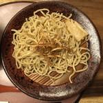 麺処むらじ - むらじのつけ麺 850円 (冷盛)