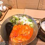 鶴亀飯店 - 海老チリ