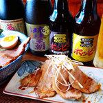 沖縄宮古島ラーメン 天晴 - 名物 炙りアグー豚チャーシュー盛り 680円