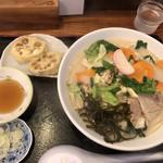 駕籠休み - 料理写真:whiteちゃんぽんとハス天