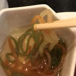 117527800 - 朝食ビュッフェ2640円(総額)。コンニャクの三色麺。お出汁の加減が絶妙で、これだけ永遠に食べていられる美味しさです(╹◡╹)