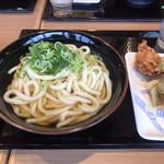 香の川製麺 - かけうどん2玉
