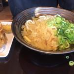 香の川製麺 - かけうどん3玉