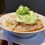 おおぼし - ばりこてZERO(¥777)+野菜(もやし、キャベツ)(¥129)×2