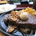 117530336 - サーロインステーキ。                       美味し。