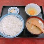黒船食堂 - 料理写真:とん汁定食