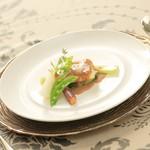 ヴィーナスコート 佐久平 - 太刀魚のムニエール ナッツ風味のバターソース