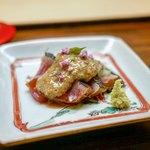 木山 - ☆かますの酢じめ 、茄子
