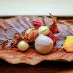 木山 - ☆子持ち鮎、銀杏、小芋
