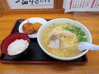 いのよし - 2019年10月 Aセット塩ラーメン大盛り(1030円)
