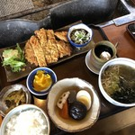神宮亭  - 料理写真:和風黒豚トンカツ定食
