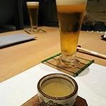 117535576 - ビールとしじみスープ