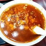 117536975 - 満洲園@鶴見 サービスランチDのマーボー麺