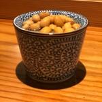 博多呑場 五右エ門 - 蕎麦猪口前菜