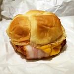バーガーキング - スモーキーベーコンエッグチーズ クロワッサンドイッチ®