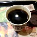 バーガーキング - コーヒー