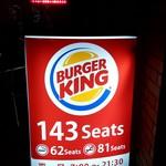 バーガーキング - 143 Seats