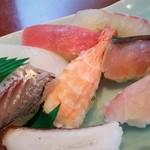 壱岐寿司 - アップ。特に鯵が美味しかったです。