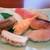 壱岐寿司 - 中にぎり。