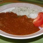 道の駅 いいで めざみの里観光物産館 レストラン わいわいパレット - 料理写真:飯豊トマトバジルカレー