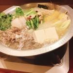 肉・魚・鍋 Dai黒 - 和牛そずり鍋一人前1500円