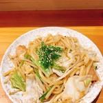 肉・魚・鍋 Dai黒 - 津山ホルモンうどん800円