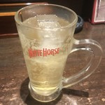 熊本ホルモン - うまソーダ(ホワイトホースハイボール)450円