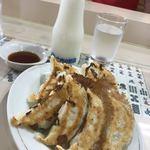 新味覚 - りんご牛乳と餃子は名コンビ♪♪