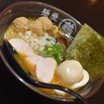 麺屋 武一 - 特製濃厚醤油鶏そば(936円+税)2019年10月