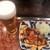 お好み焼だん - 料理写真:だん焼と一緒にビールを出してとお願いしました