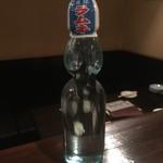 懐かしのラムネ瓶