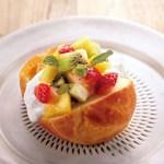 Royal Garden Cafe - babaと季節のフルーツ