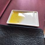 117559780 - このオリーブオイルが、香りがよくて、絶品!!