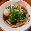 らーめん 四恩 - 料理写真:鶏だし醤油  九条ネギトッピング