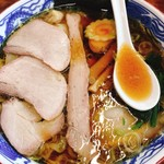 117562759 - 焼豚ワンタン麺(1,210円)
