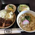 大島屋 - 料理写真:みそカツ丼ときしめん