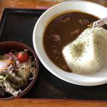 猪苗代地ビール館 - 料理写真:磐梯山ジオカレー 980円