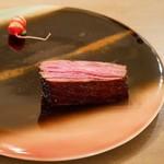 ボニュ - ☆ボニュ焼き…いぶさな牛サーロイン(#^.^#)☆