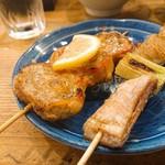 小太郎 - しその肉巻き、豚なんこつ