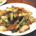 風味定食屋 - 回鍋肉