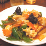 風味定食屋 - 台湾風イカ炒め
